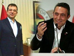 Ekrem İmamoğlu Ali Koç ile görüşecek