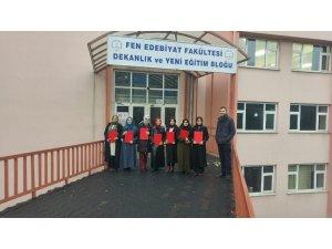 Sürekli eğitim merkezi genel İngilizce kursu tamamlandı