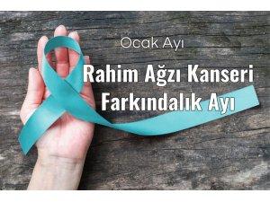 Edirne'de rahim ağzı kanserine farkındalık