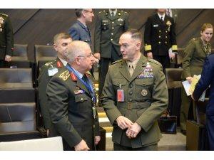 Genelkurmay başkanları Brüksel'de toplandı