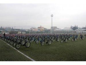 Kilis'te 15 bin eve 15 bin bisiklet kampanyası