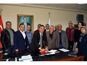 Akdeniz Belediyesi'nde toplu iş sözleşmesi sevinci