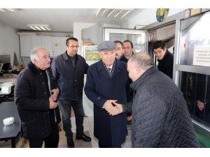 Yenimahalle Belediye Başkanı Yaşar, dolmuş şoförleriyle bir araya geldi