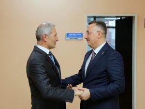 Işıksu'dan Başkan Süleyman Dişli'ye ziyaret