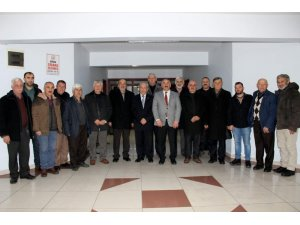 Arifiyeli muhtarlardan Başkan Karakullukçu'ya hayırlı olsun ziyareti