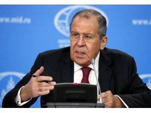 """Lavrov: """"Kuzey Suriye rejimin kontrolü altında olmalı"""""""