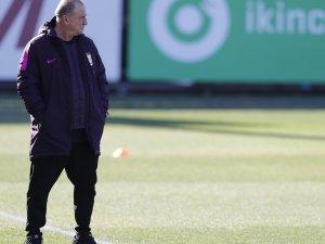 Galatasaray'ın yeni transferi Marcao ilk idmanına çıktı