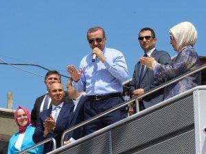 Tekkeköy Cumhurbaşkanı Erdoğan'ı ağırlamaya hazırlanıyor