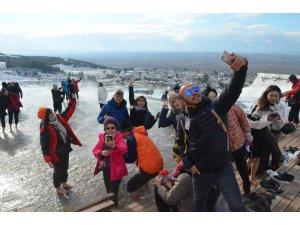 """Pamukkale'de """"Müzelerde Selfie Günü"""" kutlandı"""
