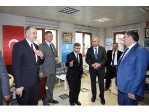AK Parti Ümraniye Belediye Başkan adayı Yıldırım, kamu kurumlarını ziyaret etti