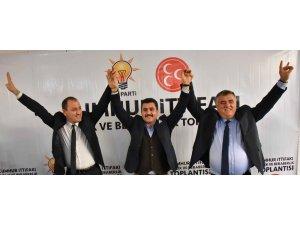 Kemalpaşa'da Cumhur İttifakı tek yürek