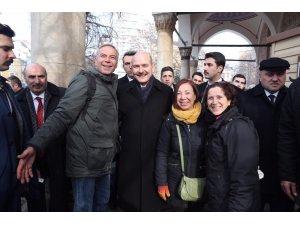 İçişleri Bakanı Soylu Sofya'da