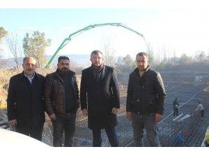 Yeni Umurbey Ortaokulu Binasının temeli atıldı