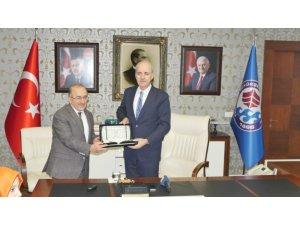 AK Parti Genel Başkan Yardımcısı Kurtulmuş'tan Başkan Gümrükçüoğlu'na ziyaret