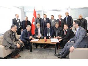 Kayseri Üniversitesi ile Mimarsinan OSB Arasında İşbirliği Ön Protokolü İmzalandı