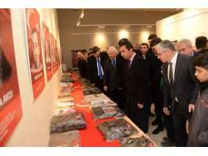 Cumhurbaşkanı Özal'a ait 26 yıllık sırrı taşıyan gömlek 'Şehit Emanetleri' sergisinde