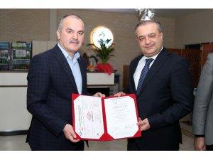 Pamukkale Belediyesi kalitesini belgelendirdi