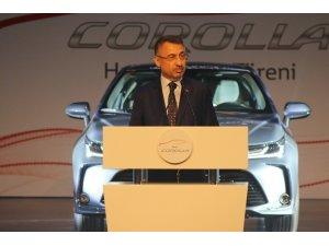 """Cumhurbaşkanı Yardımcısı Oktay: """"Hibrit otomobillere ciddi vergi avantajları sağlıyoruz"""""""