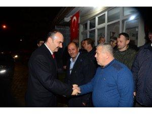Edirne Valisi Canalp köy ziyaretlerine devam ediyor