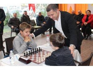 Çan Belediyesi 7. Satranç Turnuvası başladı