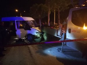 Elektrik direğinde bakım yapan çalışan trafik kazası kurbanı oldu
