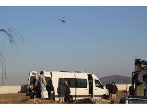 Çanakkale'de otomobilin dereye uçtuğu iddiası