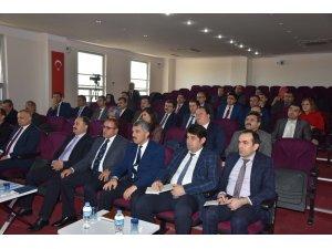 Denizli'de 'ilçe milli eğitim şube müdürleri' toplantısı yapıldı