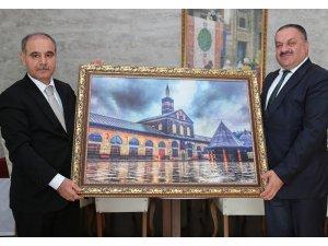 Dicle Elektrik'ten Şırnak Valisi Aktaş'a nezaket ziyareti