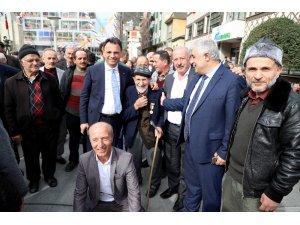 AK Parti Maçka'da seçim startını verdi