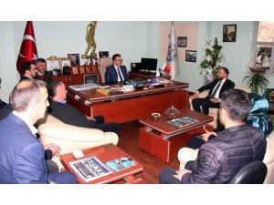 AK Parti Vakfıkebir ilçe teşkilatından ziyaretler