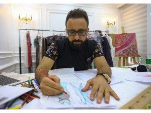 Cizre'den dünya modasına başarılı imza
