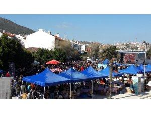Datça Badem Çiçeği Festivali renkli görüntülerle sona erdi