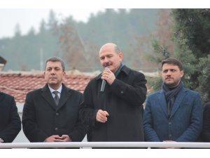 """İçişleri Bakanı Soylu: """"PKK'yı başımıza musallat ettiler. FETÖ'yü başımıza musallat ettiler"""""""