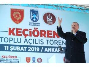 """Cumhurbaşkanı Recep Tayyip Erdoğan, tanzim satış noktaları ile ilgili, """"Halk ekmekte nasıl ucuz ekmeği vatandaşımıza gönderdiysek, sebzede meyvede, temizlik malzemelerinde de buna gireceğiz. Oyunu hep beraber bozacağız."""