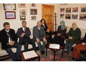 Marasalı'dan Hacı Bektaş-I Veli Kültür Merkezi Vakfı'na ziyaret