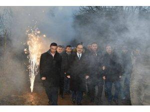 Başkan Zihni Şahin'e görkemli karşılama