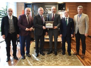 Macaristan Ankara Büyükelçisi Kiss'ten KTO'ya Veda Ziyareti