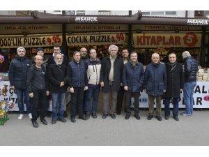 Başkan Ataç Eskişehirli yazarlar ile buluştu