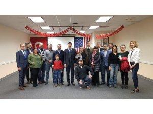YTB Başkanı Eren, Chicago'da Türklerle bir araya geldi