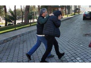 Samsun'da uyuşturucu ticaretinden 1 kişi tutuklandı.