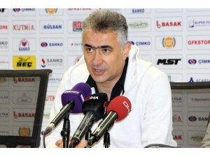 Gazişehir Gaziantep - Hatayspor maçının ardından