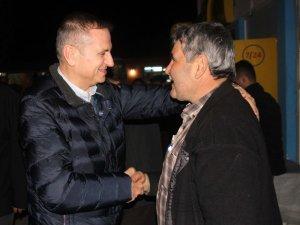 Tellioğlu Şamlı'da vatandaşla buluştu