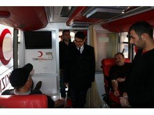 Hekimhan'da Jandarmadan kan bağışı