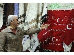 Siirtli girişimci, devletten aldığı teşvikle battaniye üretim merkezi açtı