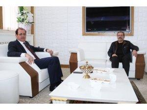 BTSO Başkanı Seyhan'dan Rektör Coşkun'a ziyaret