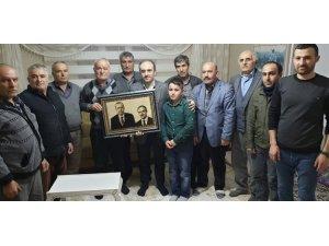 Başkan Epcim'den şehit ailesine ziyaret