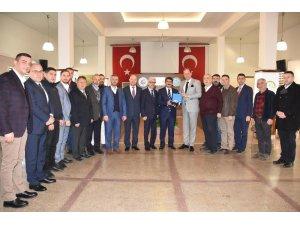 Başkan Çelik'ten Ticaret Borsasına ziyaret