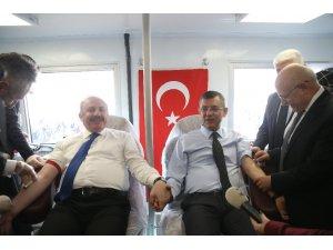 TBMM kan bağışı kampanyasında partiler arası dayanışma