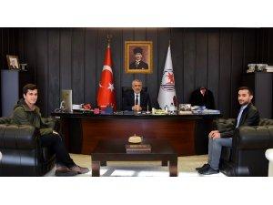 Türkiye birincisi OMÜ mezunu, stajyer kaymakam olarak görevde