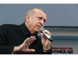 """Cumhurbaşkanı Erdoğan: """"Türkiye üzerindeki hesapları dün ne ise unutmayın bugün de aynı"""""""